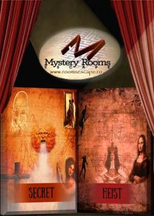 Cele mai noi Mystery Rooms: Heist & Secret